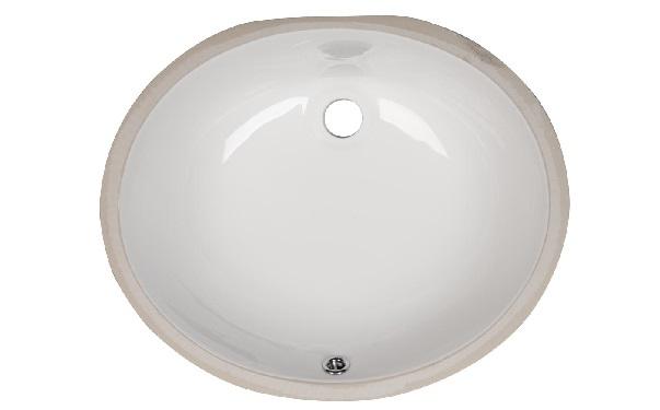 Bath Vanity Oval Porcelain Sink (ESCO-1714) Image
