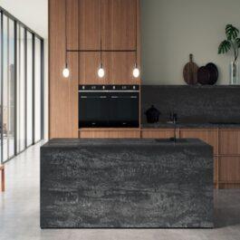 Caesarstone Black Tempal Quartz Countertops
