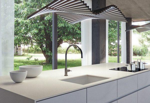 Caesarstone Fresh Concrete Quartz Countertops