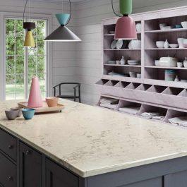 Caesarstone Noble Grey Quartz Countertops